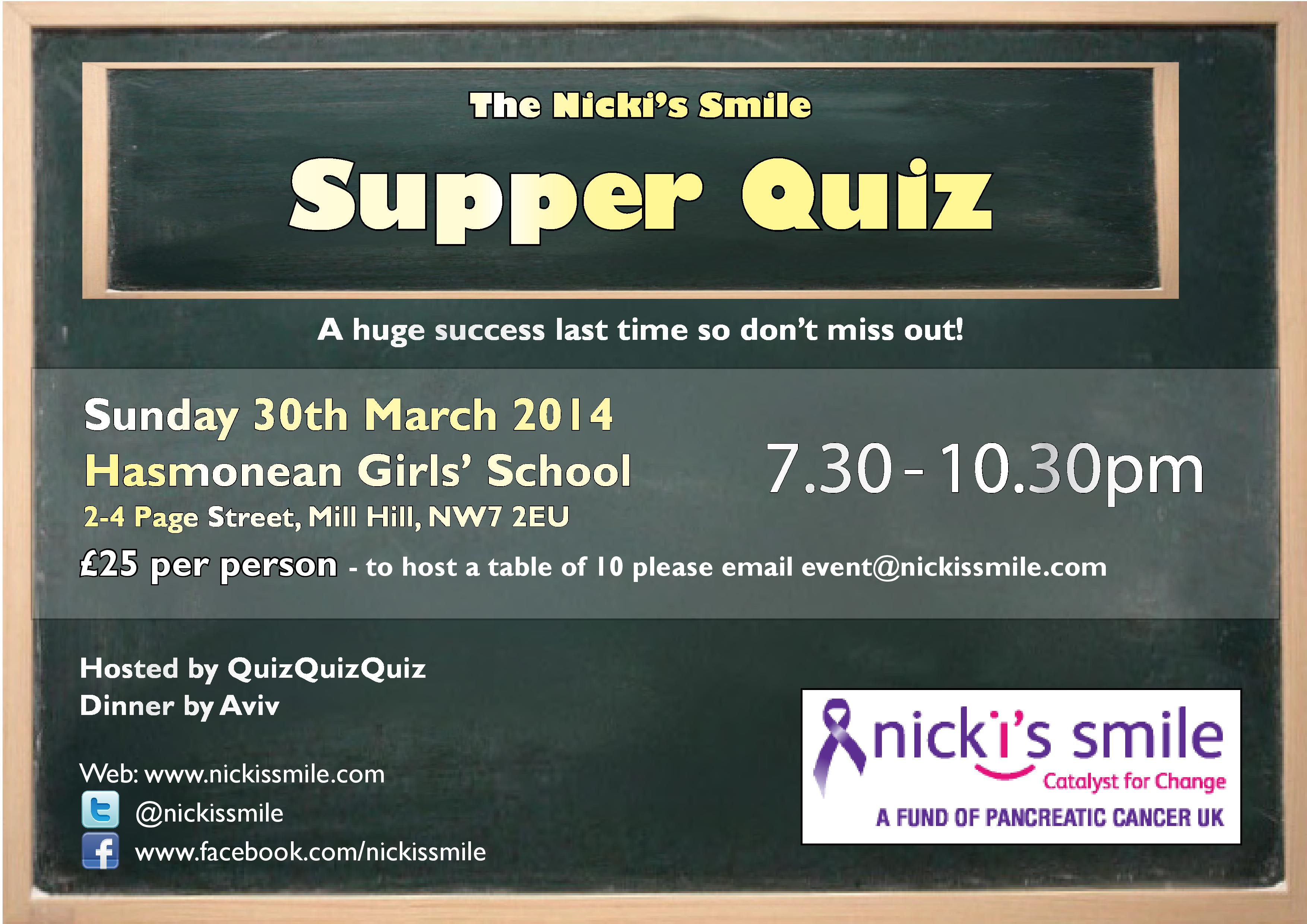 Nicki s Smile Quiz Night